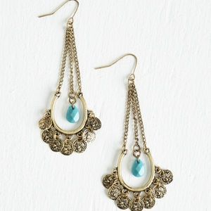 ModCloth Craft fairest of them all earrings